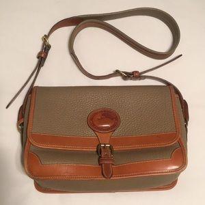 Vintage Dooney & Bourke Leather Crossbody Purse